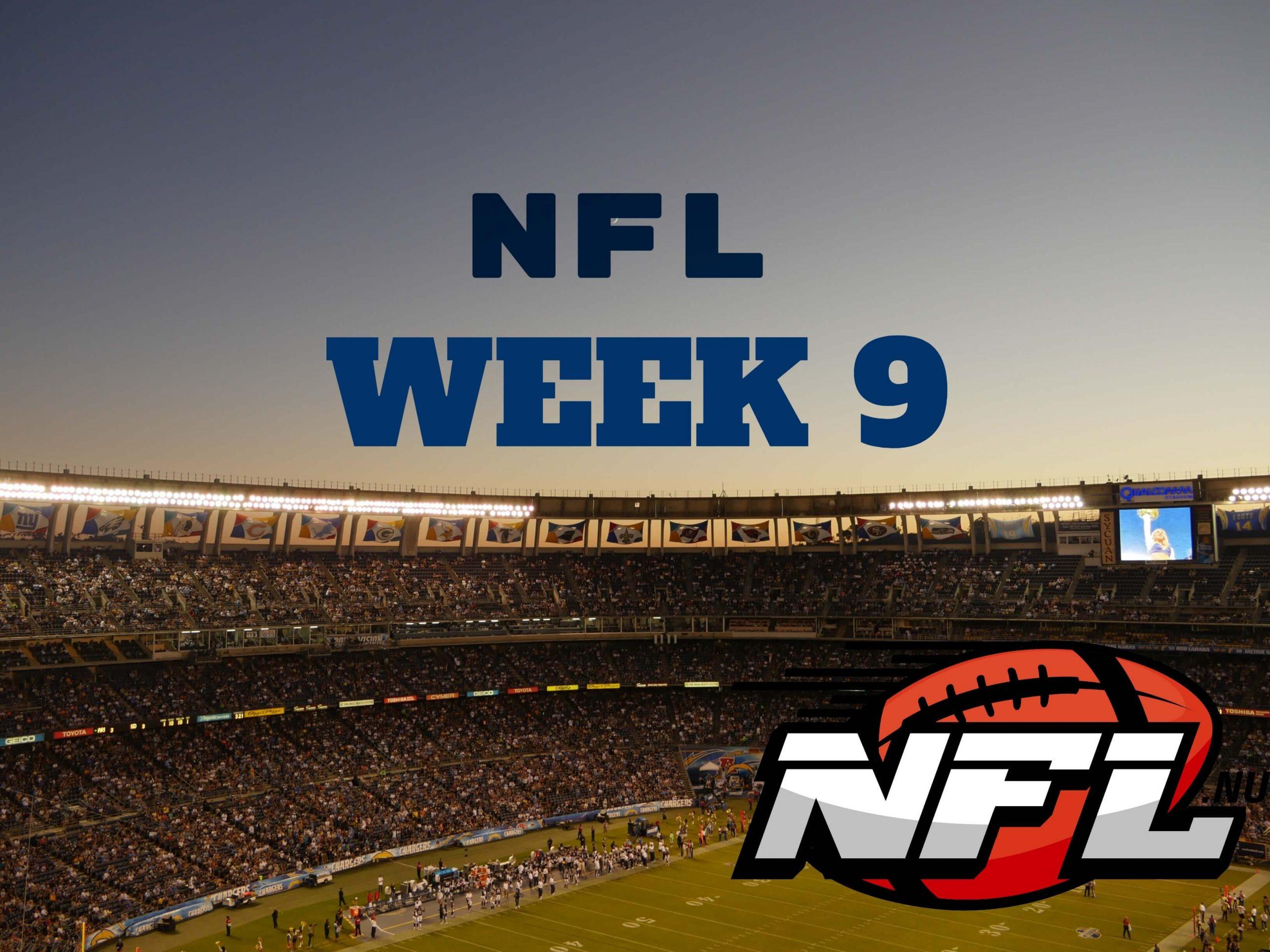 NFL Week 9